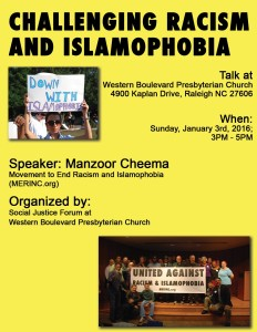 Islamophobia Talk at WB Presbyterian Church - RGB