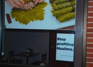 Islamophobia Canvassin 1-16-16 Pic 6