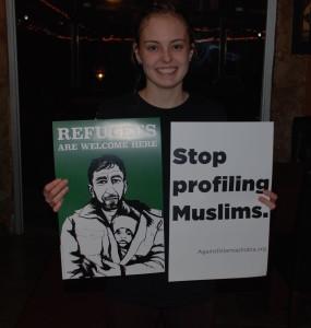 Islamophobia Canvassin 1-16-16